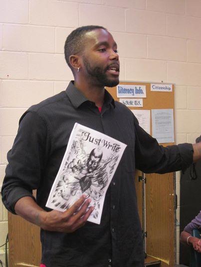 Hakim Bellamy at the Monroe Correctional Facility