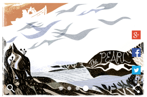Google Doodle John Steinbeck The Pearl